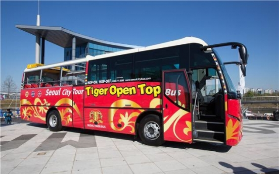 New city tour bus debuts in Seoul