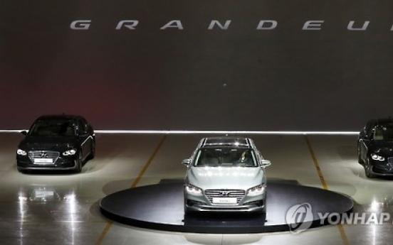 Hyundai aims to sell 100,000 units of new Grandeur
