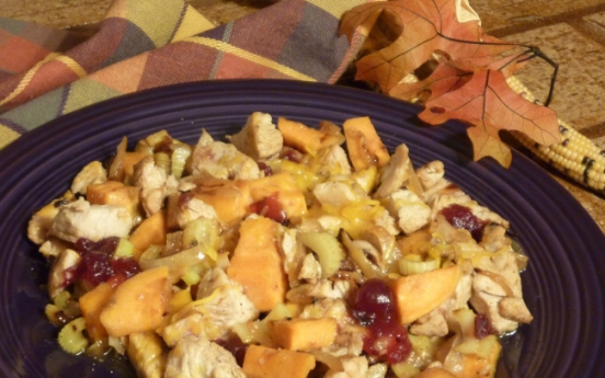 Use your Thanksgiving leftovers in this tasty hash