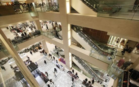 Korea hit 100 department stores in 2015