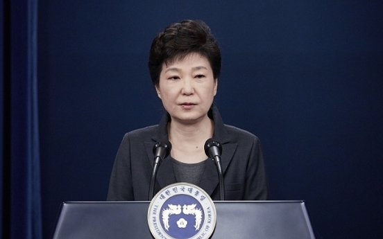 President Park to issue public statement on scandal