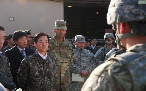 Defense chief renews calls for vigilance over N.K. threats