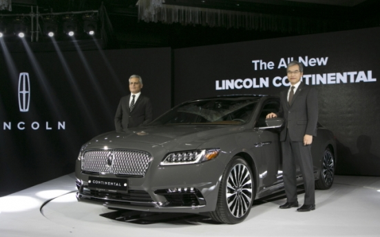 All-new 2017 Lincoln Continental launched in Korea