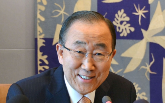 UN chief unlikely to join ruling Saenuri Party