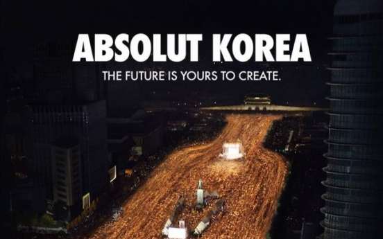 Absolut Korea gets into hot water with new ad