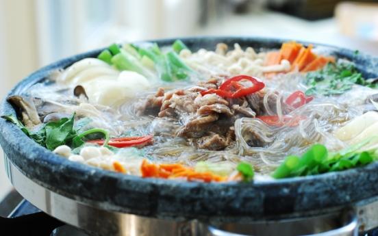 [Home Cooking] Bulgogi jeongol (hot pot)
