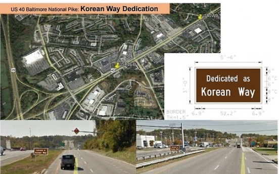 Maryland road to be named 'Korean Way'