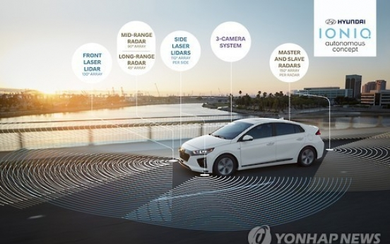 Hyundai to show self-driving technology at CES