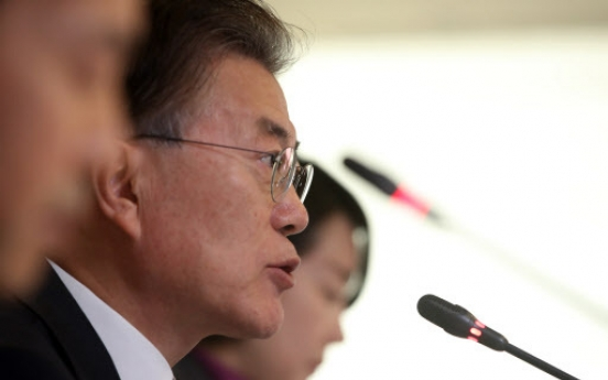 Moon vows to undo Park's key external policies