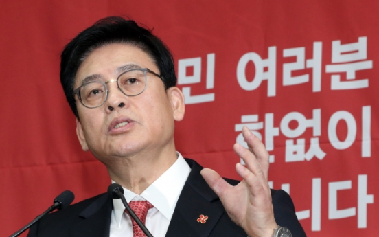 Blanked Saenuri reformers prepare to flee the party
