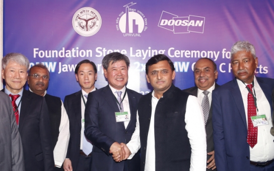 Doosan Heavy bags W2.8tr deal with India