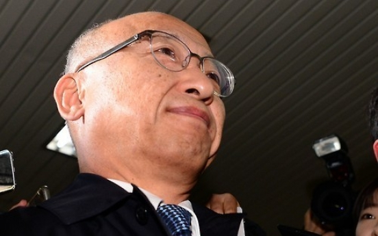 Pension fund chief grilled over Samsung's merger deal