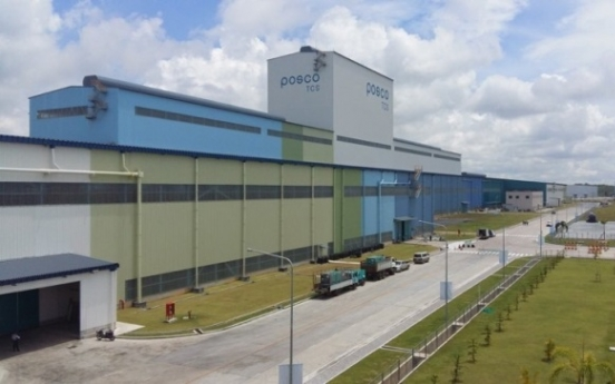 Posco strives to lead automotive steel market