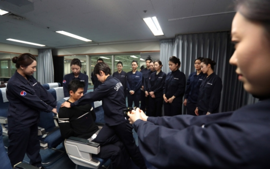 Korean Air vows to strengthen security training