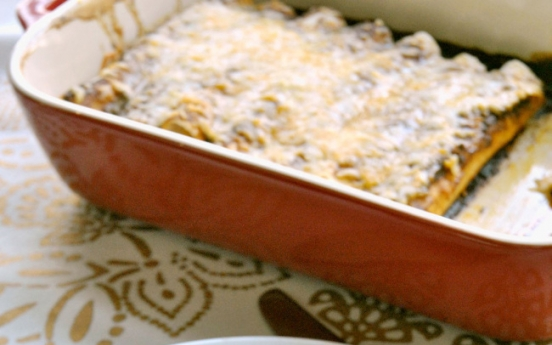 [Recipe] Let's eat: Cheese enchiladas with chili gravy