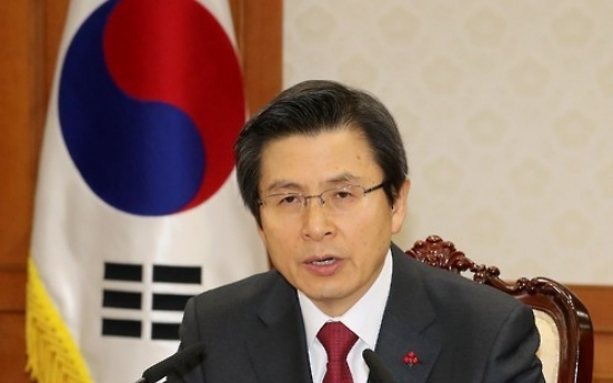 Korea to use all means possible to beef up economy: acting president