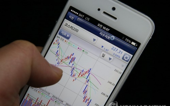 Mobile stock trade jumps amid incentives