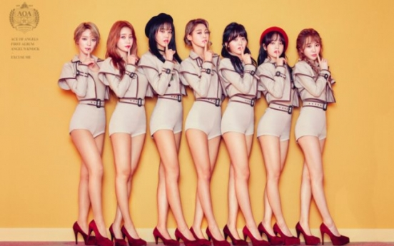 AOA gives glimpse of choreography for 'Excuse Me,' 'Bing Bing'