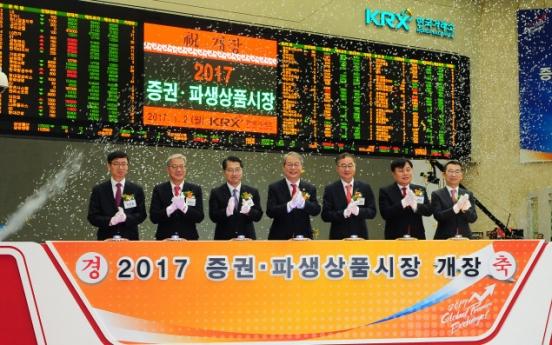 Korean stock market looks steadfast on first day