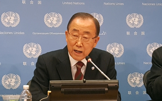 Former UN chief Ban seen as distancing himself from Park