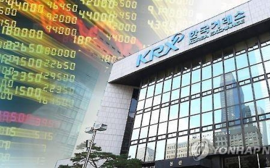 Seoul stocks edge down on sell-off by institutional investors