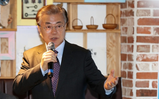 Seoul Mayor Park turns loose on presidential rival Moon