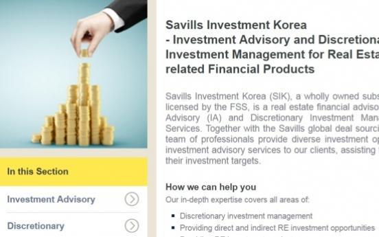 Savills Korea's subsidiary obtains asset management license