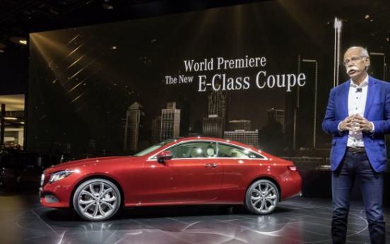 Mercedes-Benz premieres new E-Class Coupe at Detroit show