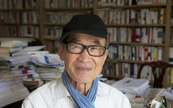 Korean poet Ko Un to be honored by Italy's Fondazione Roma