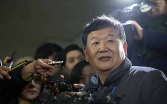 [Photo News] Ex-director of culture testifies for investigators