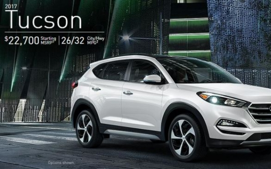 Hyundai to recall Tucson SUVs in Korea, China