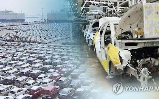 Korea's R&D workforce at carmakers falls far behind Germany