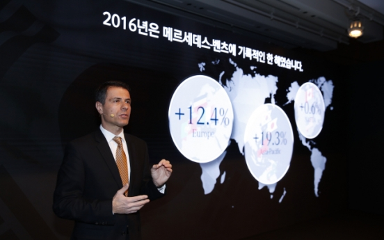 Mercedes-Benz Korea to unveil six new models this year