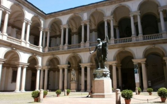 Milan's Brera protects artworks after humidity system fails