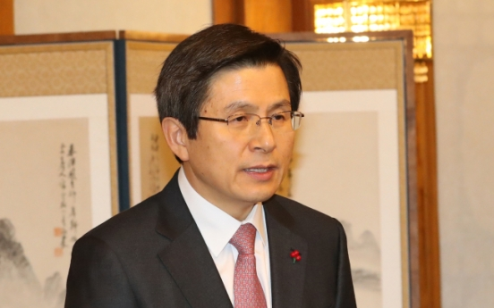 Hwang renews calls for parties' support in stabilizing state affairs