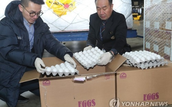 Egg prices starting to stabilize after imports arrive