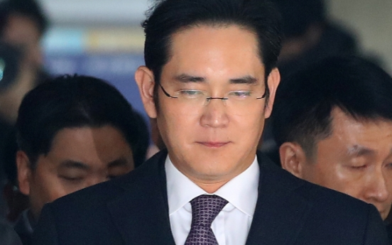 [From the scene] Lee Jae-yong's grueling day