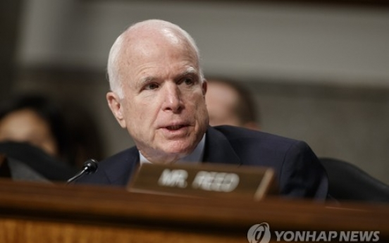 McCain slams China for 'bullying' Korea over THAAD