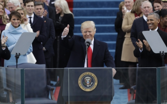Trump takes charge: Sworn in as 45th president of US