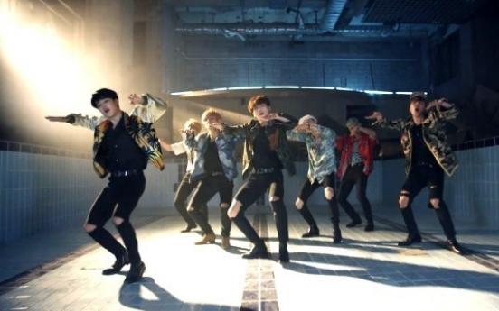 BTS' 'Fire' tops 100 mln YouTube views