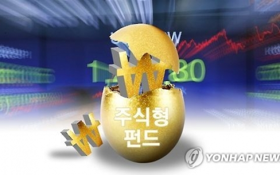 Korea's stock funds suffer W1t of outflows in 3 weeks