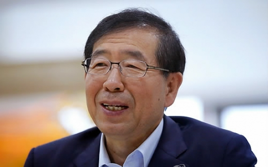 Seoul Mayor Park to drop presidential bid