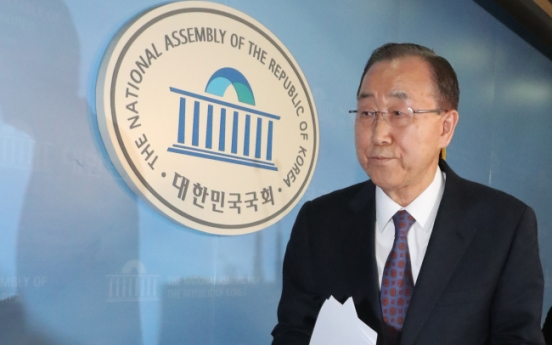 Ban Ki-moon renounces presidential ambition