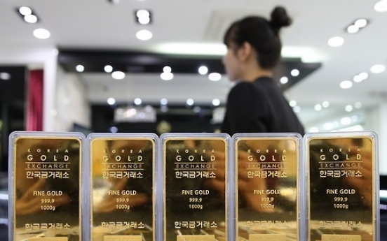 Korea logs surplus of non-monetary gold trade for 1st time in four years