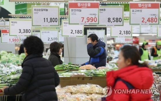 Korean consumers expect higher prices this year