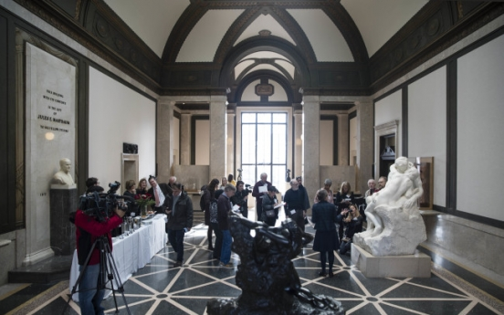 Rodin Museum fetes sculptor with passion-themed installation