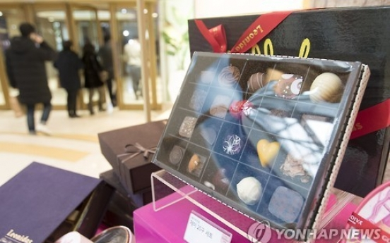 Korea's imports of candies, chocolates hit fresh record high in 2016