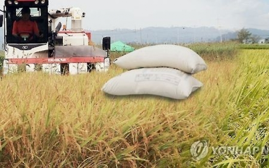 Korea to strike balance of rice supply, demand by 2019