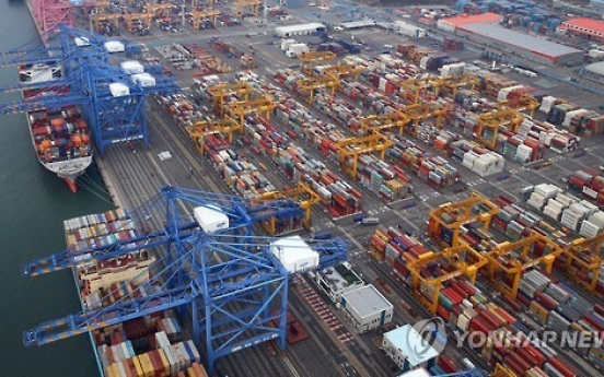 Korea's exports continue expanding in Feb.