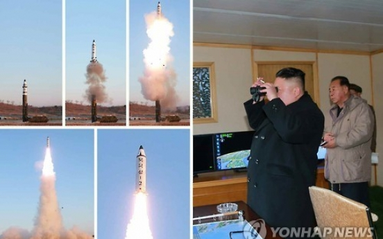 UN chief 'strongly condemns' N. Korea's missile launch